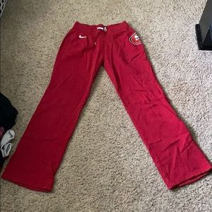 San Francisco 49ers sweat pants